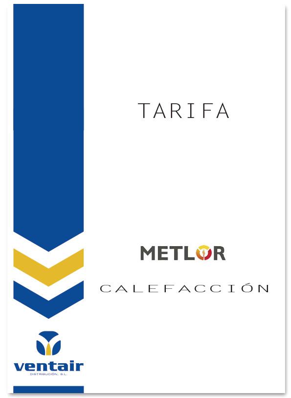 Calefacci n ventair distribuci n sl for Tarifa roca calefaccion